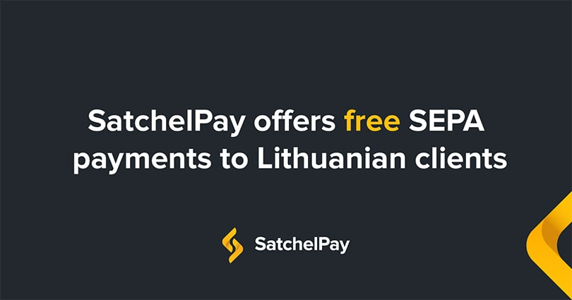 SatchelPay offers a new fee structure exclusively to Lithuanian clients