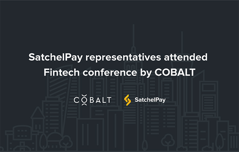 SatchelPay representatives attended Fintech conference by COBALT