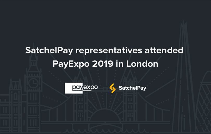 SatchelPay representatives attended PayExpo in London