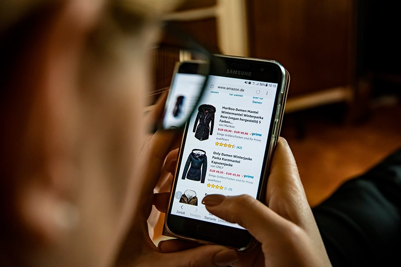 What are the biggest changes in online shopping process?